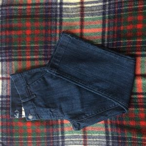Old Navy Cropped Cigarette Trouser Jeans,  SZ 4